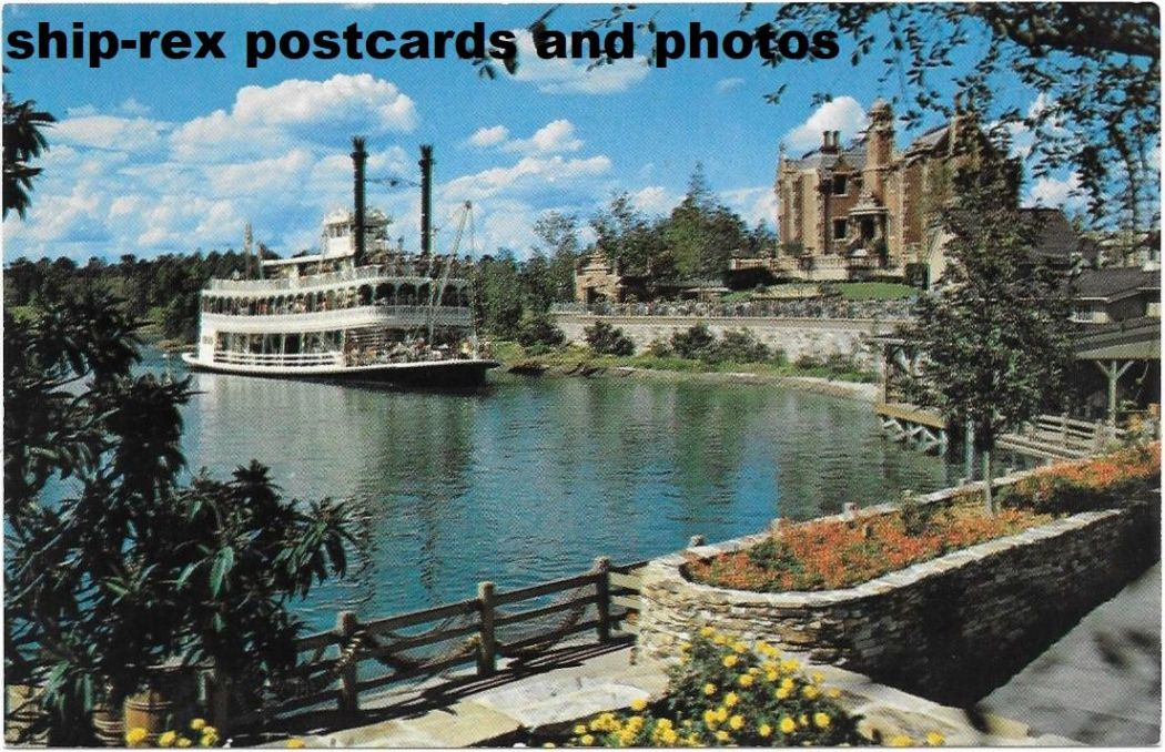 ADMIRAL JOE FOWLER (Walt Disney World) postcard (b)